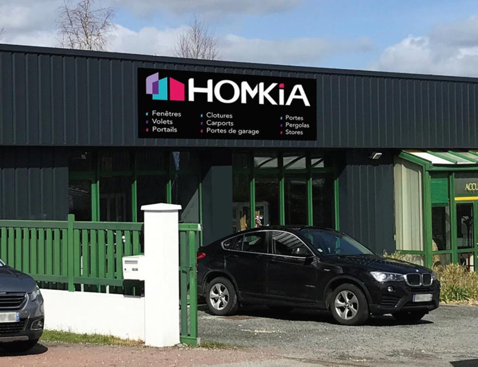 Homkia double son réseau en seulement un an