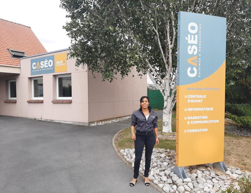 Naïma Jraifin, nouvelle animatrice de réseau chez Caséo