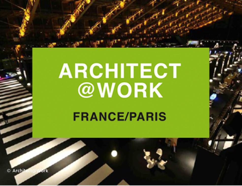 Saint-Gobain présente son nouveau verre au salon Architect@Work