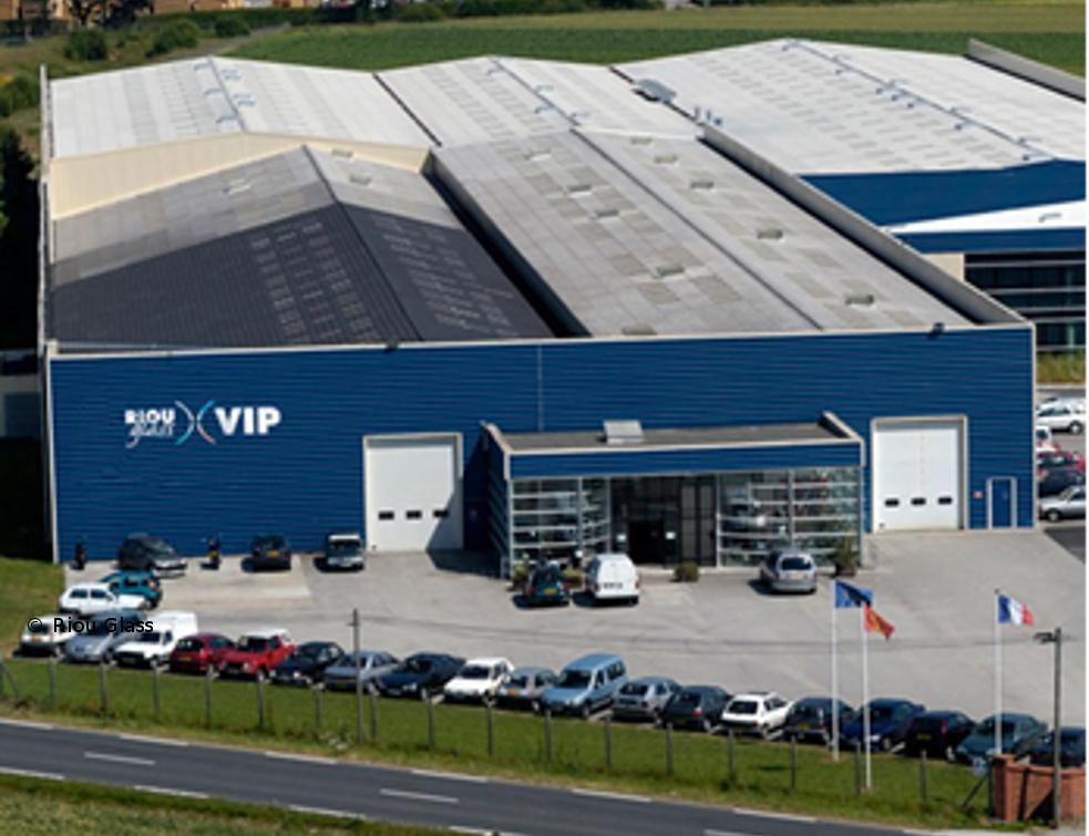 L'usine historique de Riou Glass se modernise