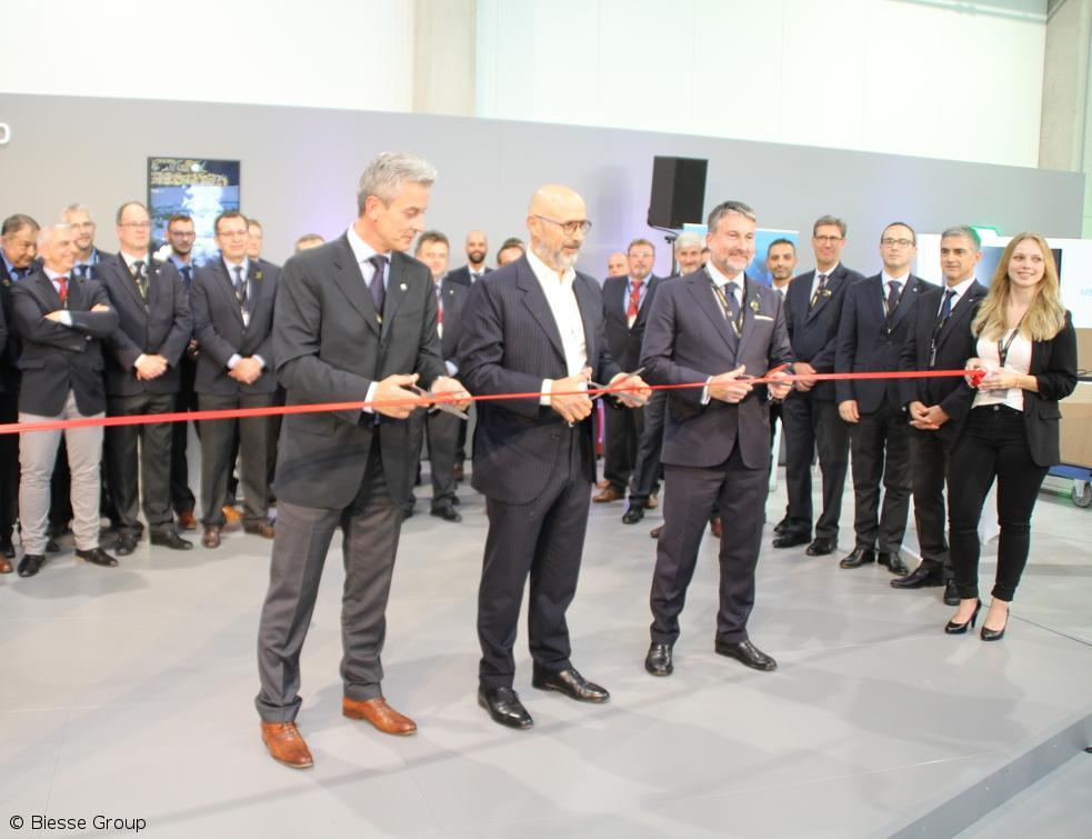 Biesse Group inaugure le tout nouveau Ulm Campus en Allemagne