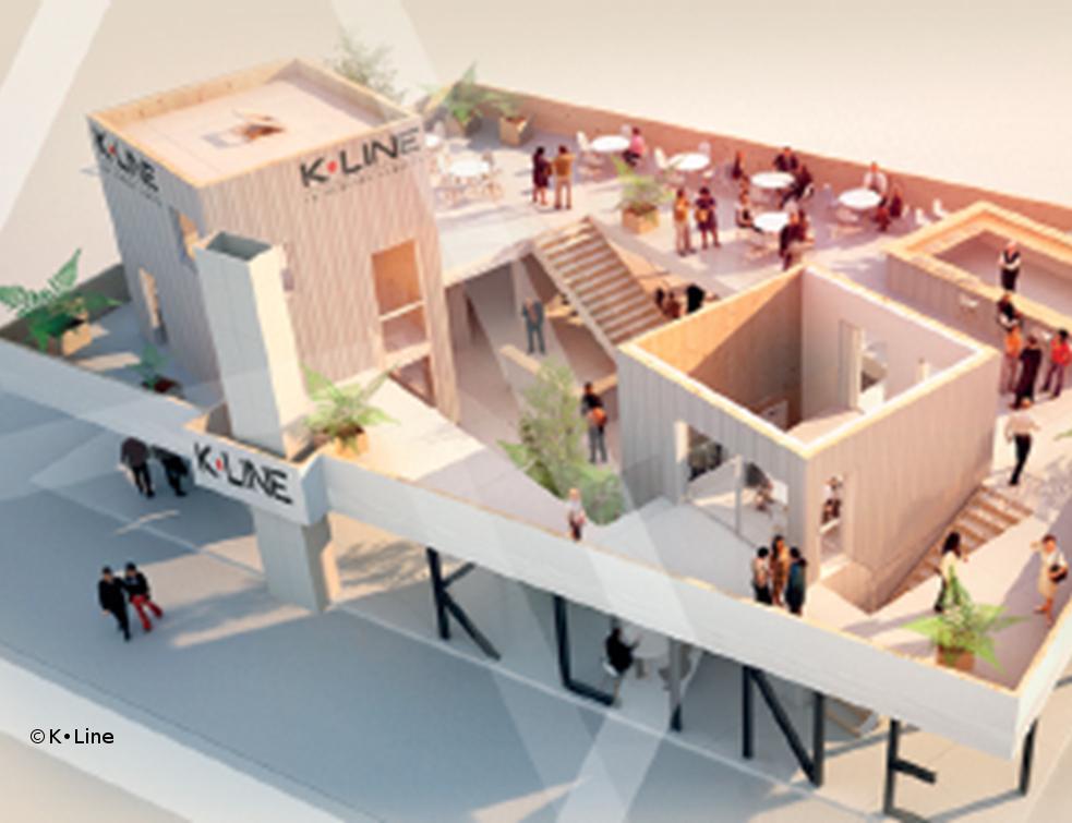 Eco-conception et élegance pour K•Line