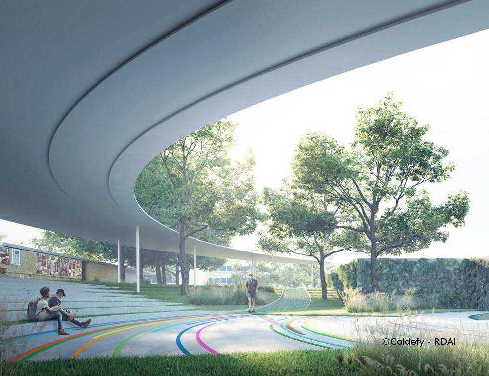 Une agence d'architecture française lauréate du concours du mémorial & muséum