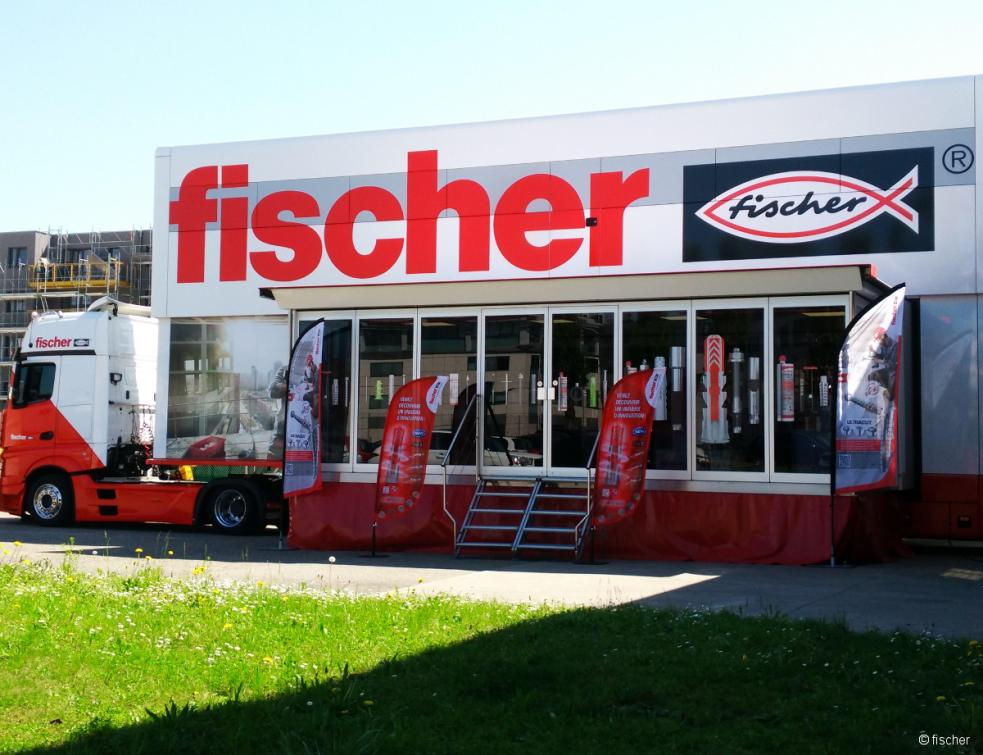 Centre de formation mobile fischer Tour Truck