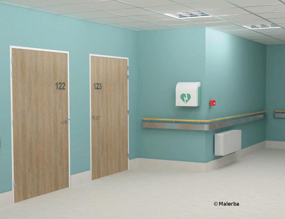 Malerba équipe le nouvel hôpital de Maubeuge
