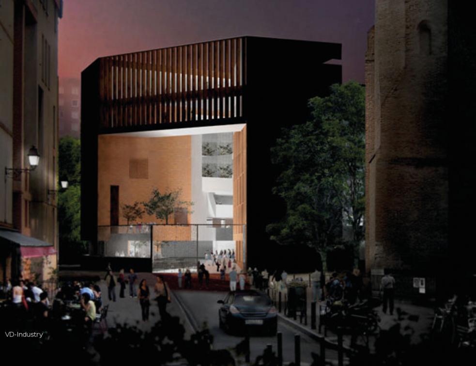 Université Toulouse Capitole : une nouveau bâtiment dédié à la recherche