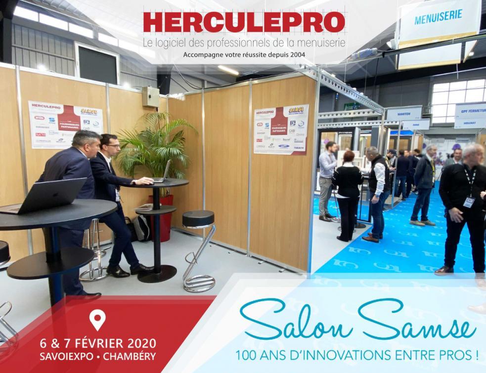 Herculepro Live : Salon SAMSE les 6 et 7 février sous le signe de l'innovation