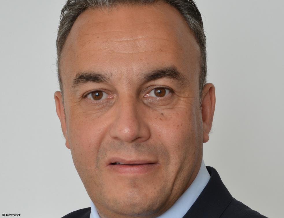 Raphaël Dericbourg, directeur général de Kawneer Southwest Europe