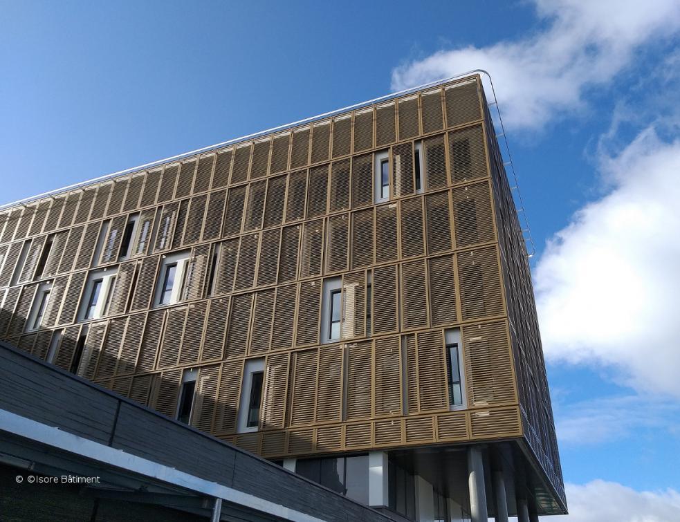 1100 volets Boréale pour le nouveau campus Innovation d'Orange