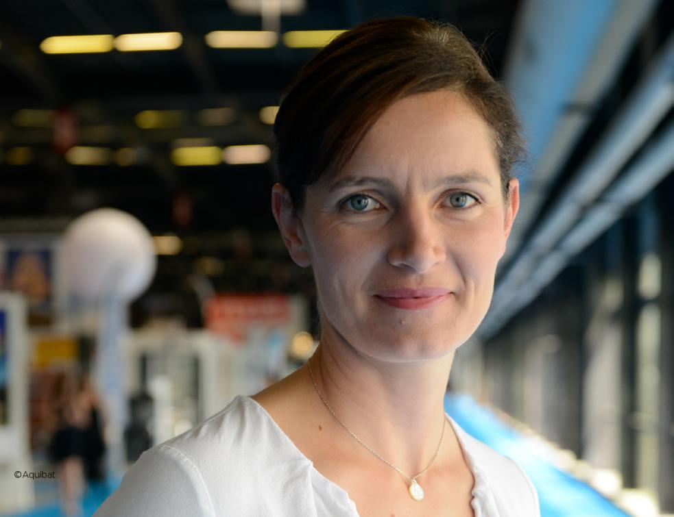 Interview de Delphine Demade, directrice du salon AQUIBAT