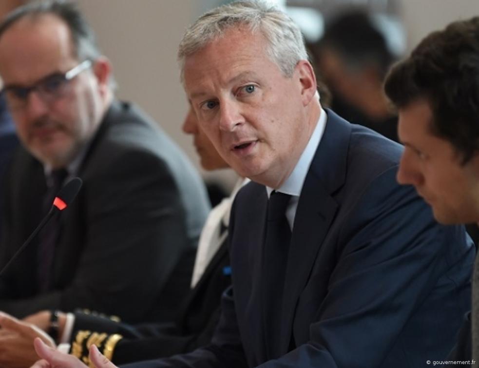 Discours de Bruno Le Maire, ministre de l'Economie et des Finances
