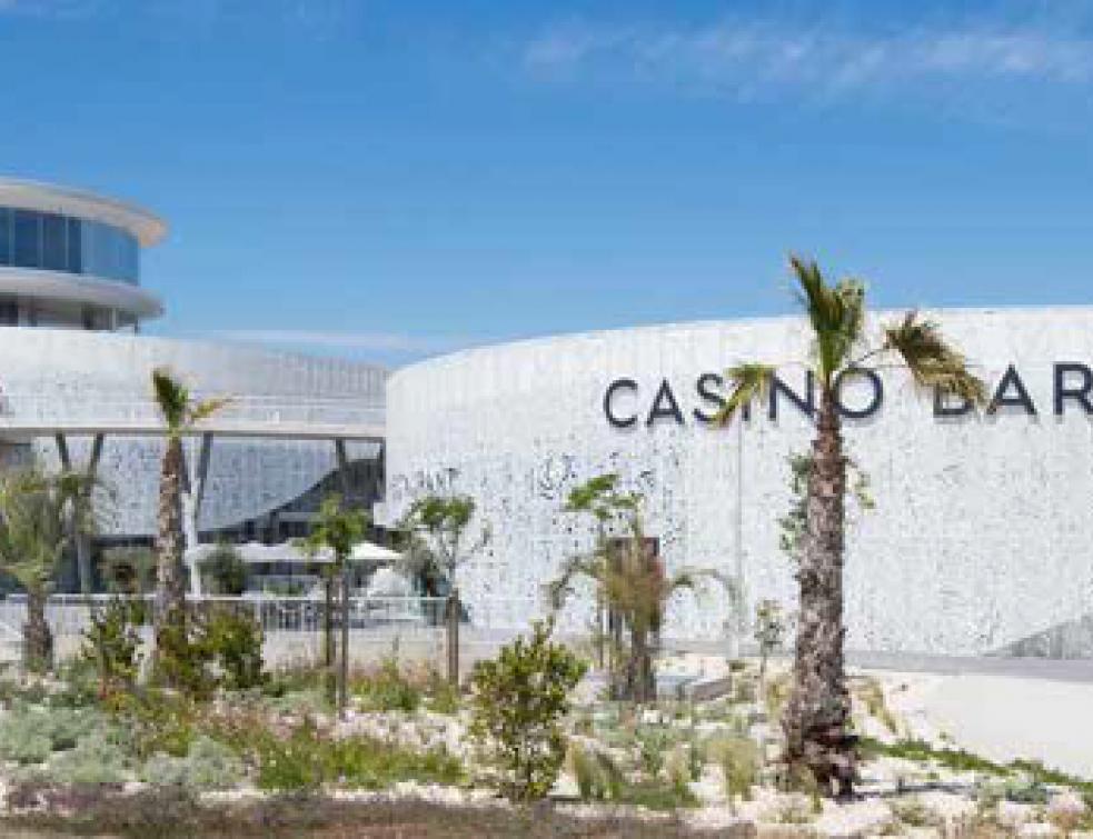 Un mur-rideau Kawneer pour le Casino et Palais des Congrès du Cap d'Agde