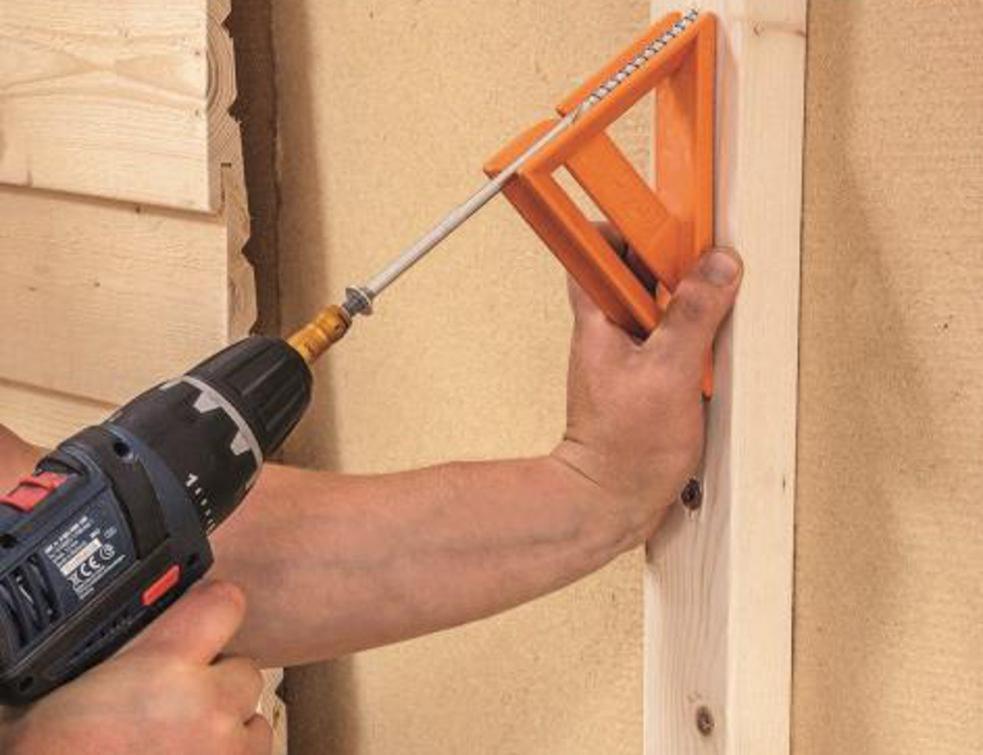 Sécurité de vissage garantie pour les façades rideaux ventilées
