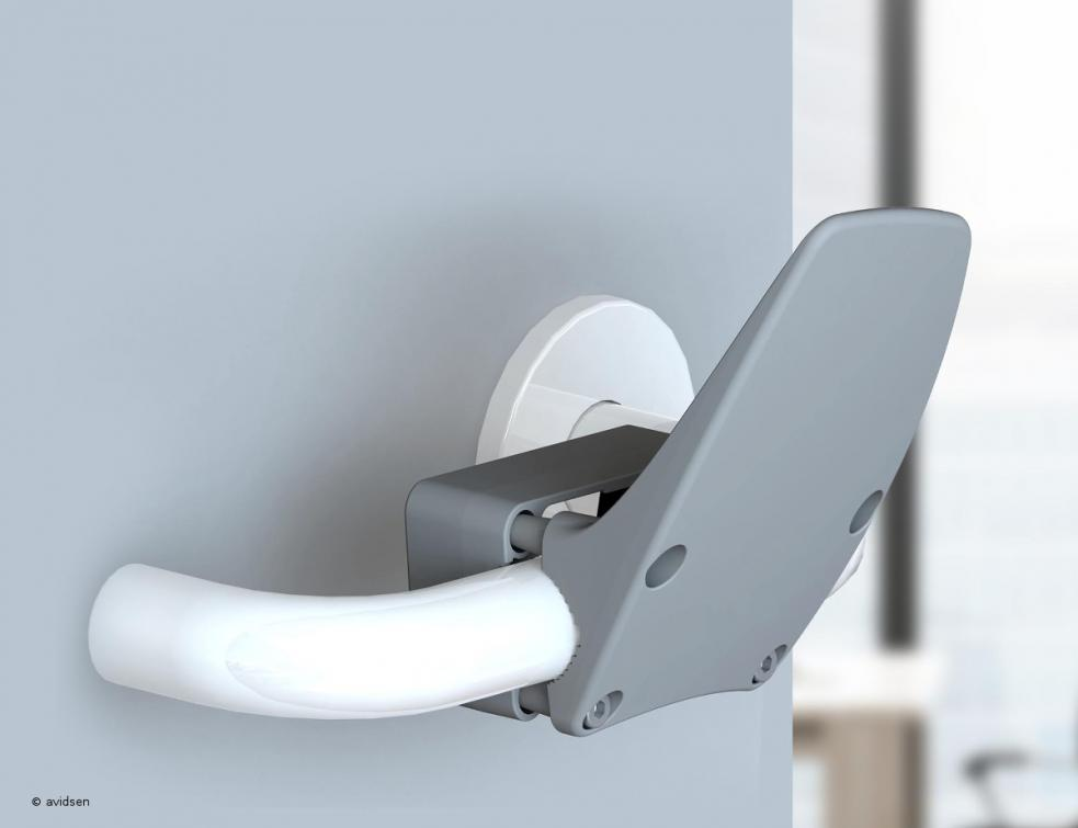 avidsen s'adapte à la crise sanitaire et propose l'ouvre-porte mains libres