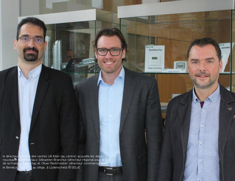 Deux nouveaux commerciaux viennent renforcer l'équipe Exportations de SELVE