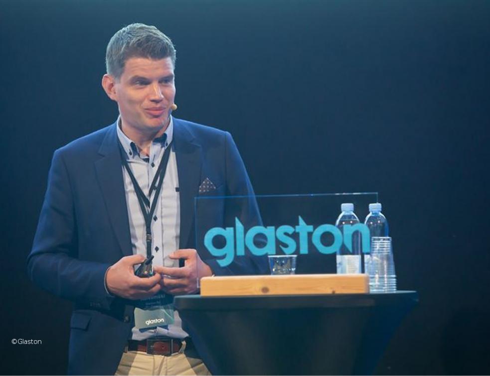 Le directeur général de Glaston, PDG par intérim le 1er juin 2020