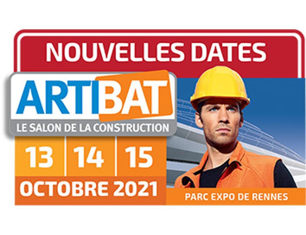 ARTIBAT reporté aux 13, 14 et 15 octobre 2021