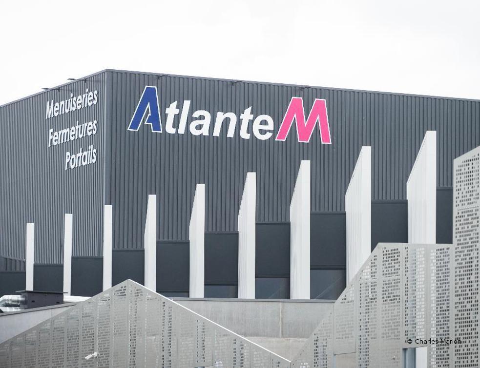 Nouvelle usine 4.0 Atlantem à St-Sauveur-des-Landes (35)