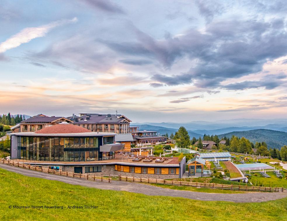 Le Mountain Resort Feuerberg mise sur les intercalaires SWISSPACER ULTIMATE
