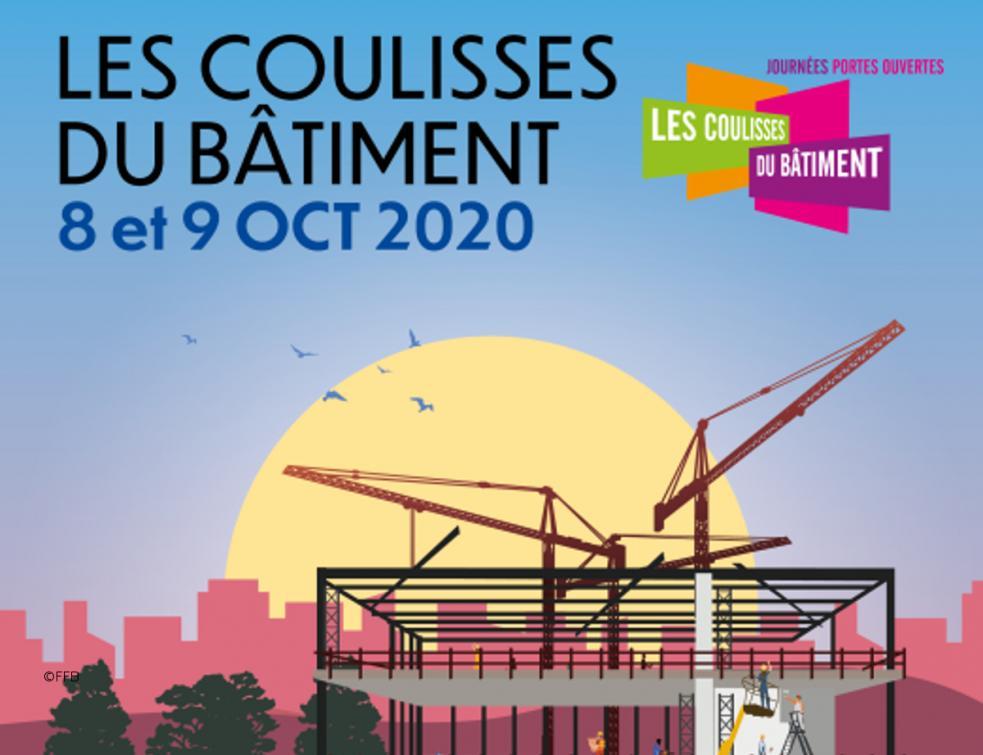 Les Coulisses du Bâtiment reviennent les 8 et 9 octobre