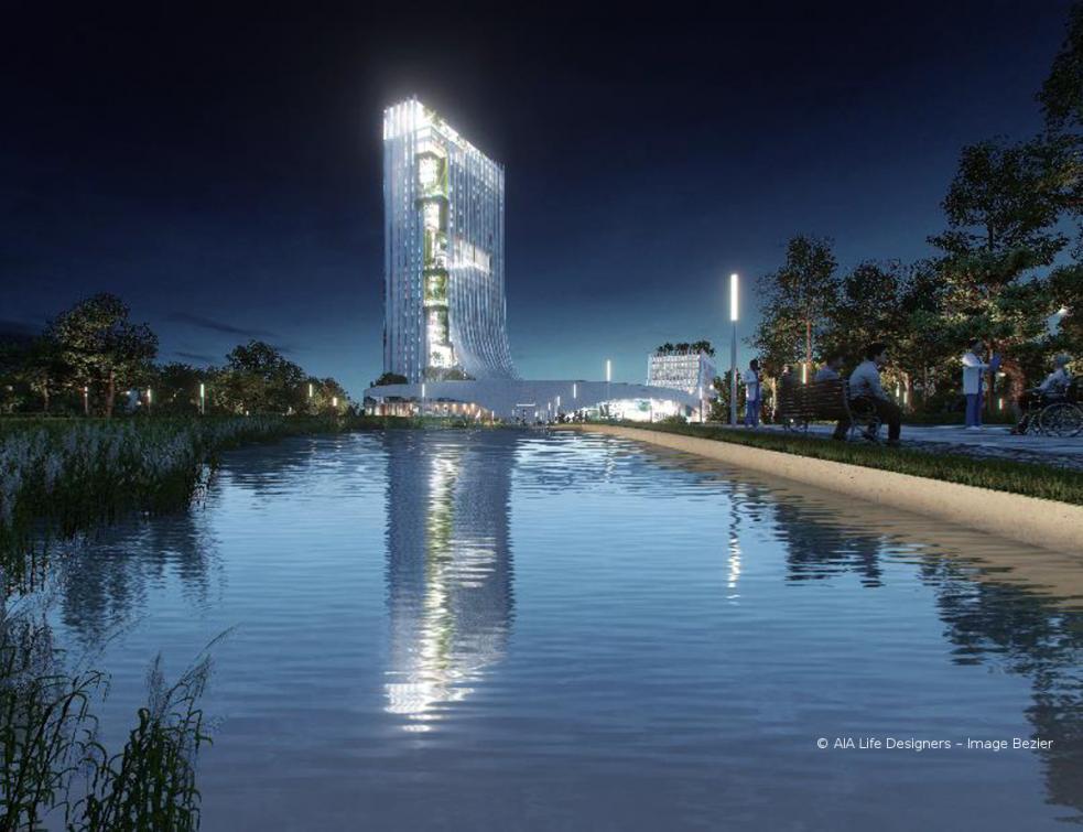 AIA Life Designers et AWMountassir remportent le concours international d'architecture