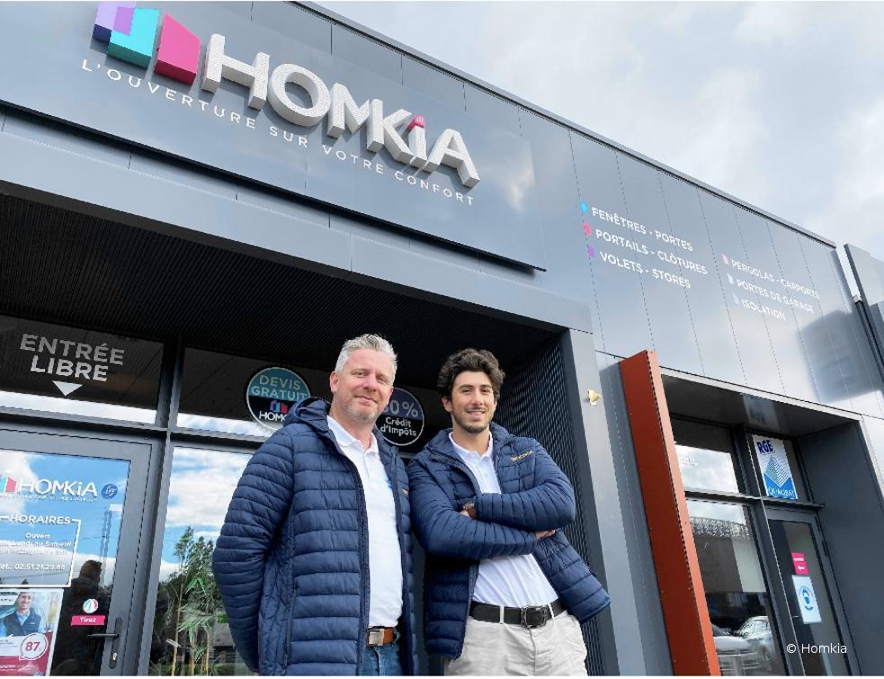 Homkia renforce ses équipes