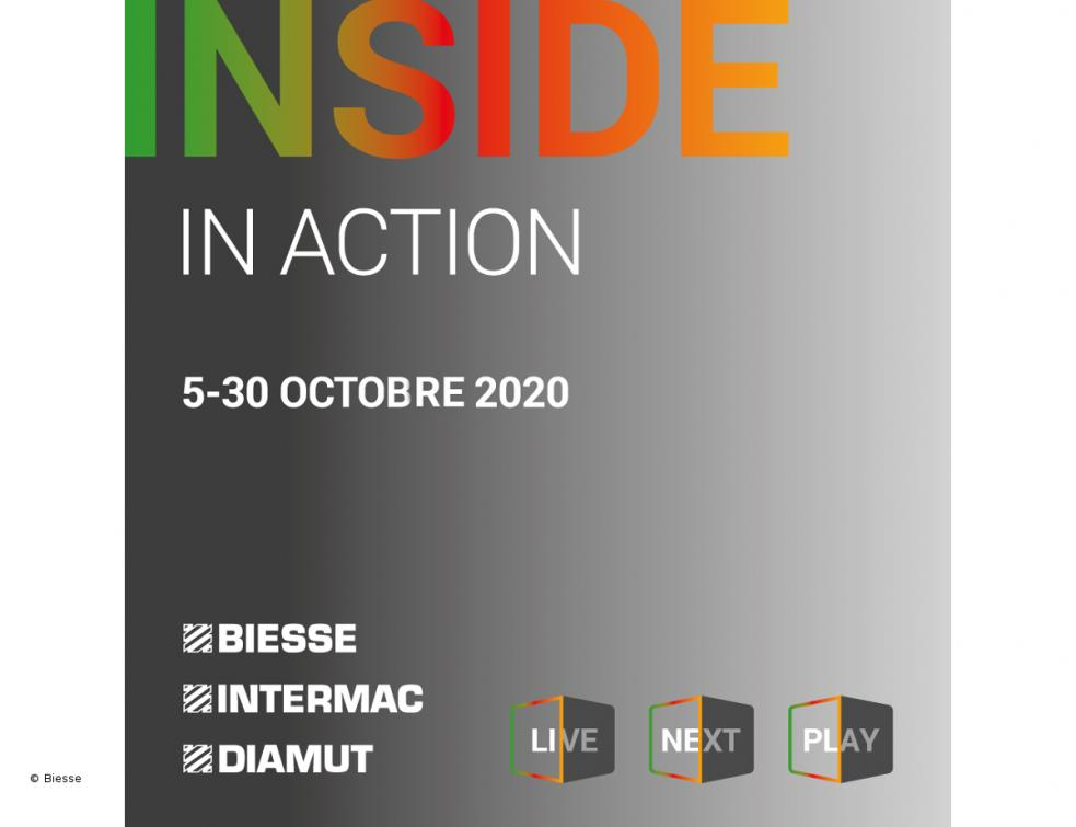 Le groupe Biesse lance Inside In Action, le nouvel événement « on-life » en octobre