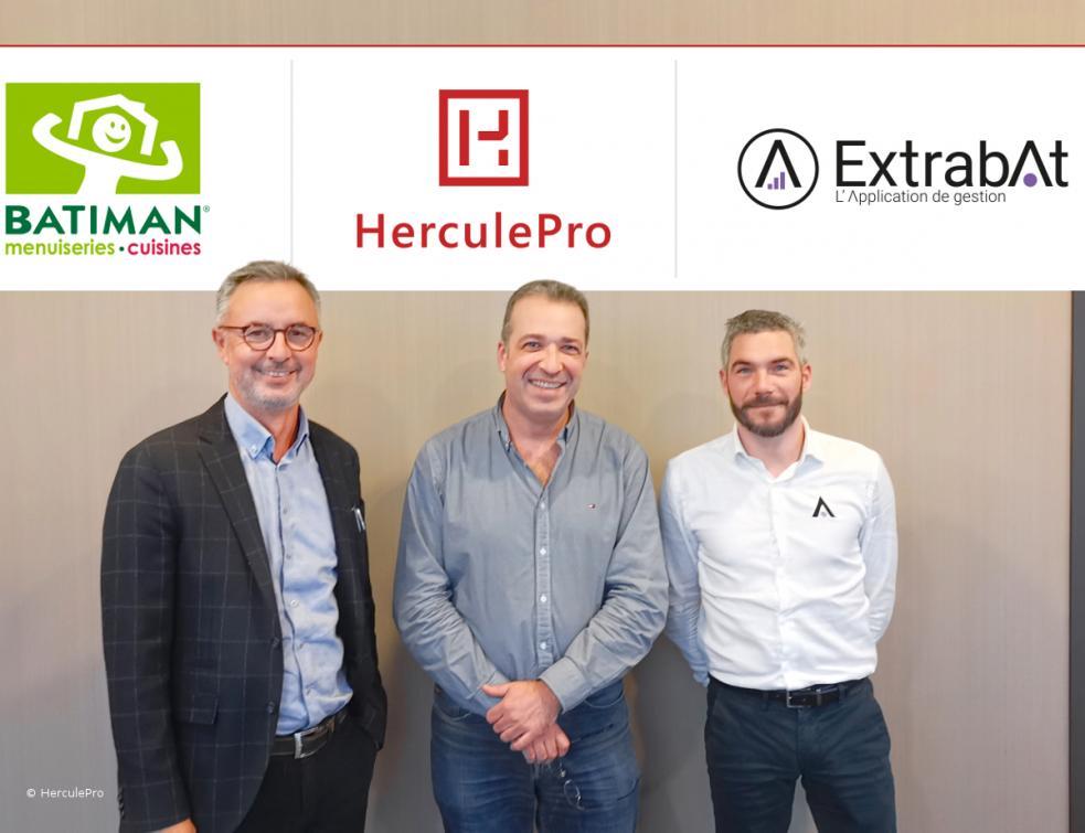 Batiman se dote d'un nouvel outil de gestion avec Extrabat et Herculepro