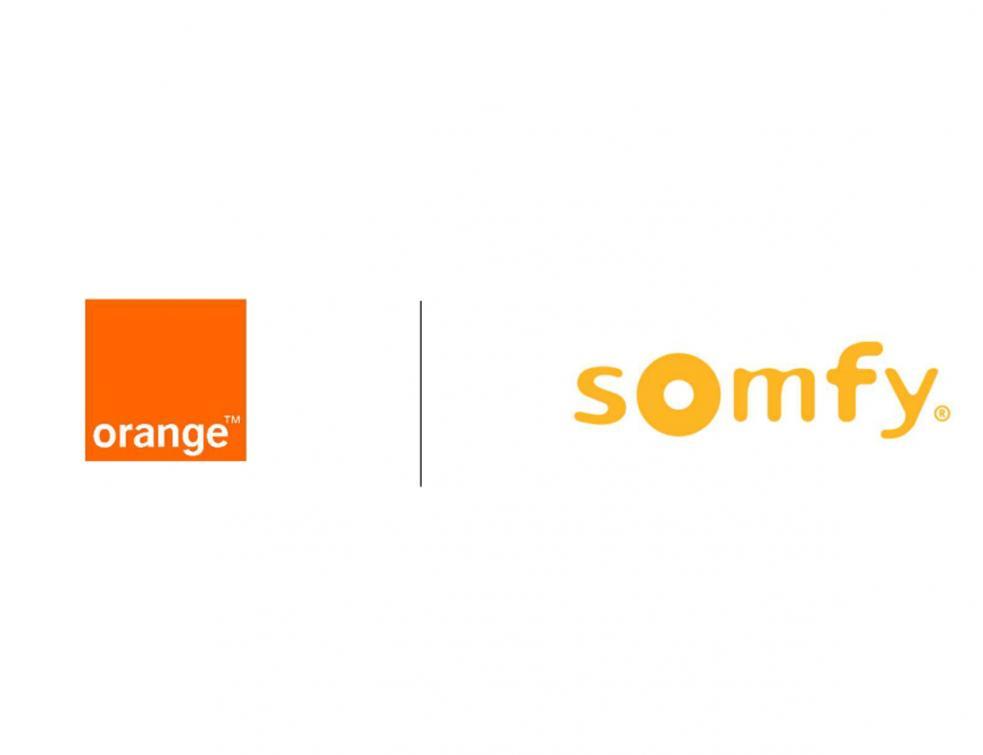 Orange et Somfy annoncent un partenariat