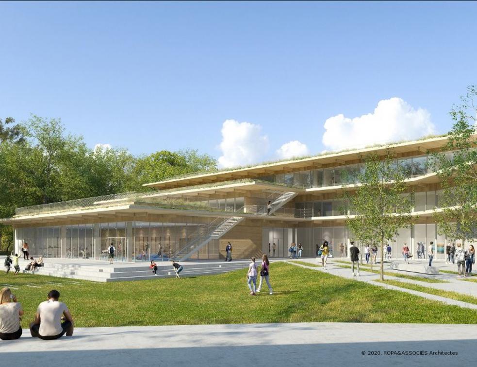 L'agence Ropa&Associés Architectes, lauréate du concours de maîtrise d'œuvre région IdF