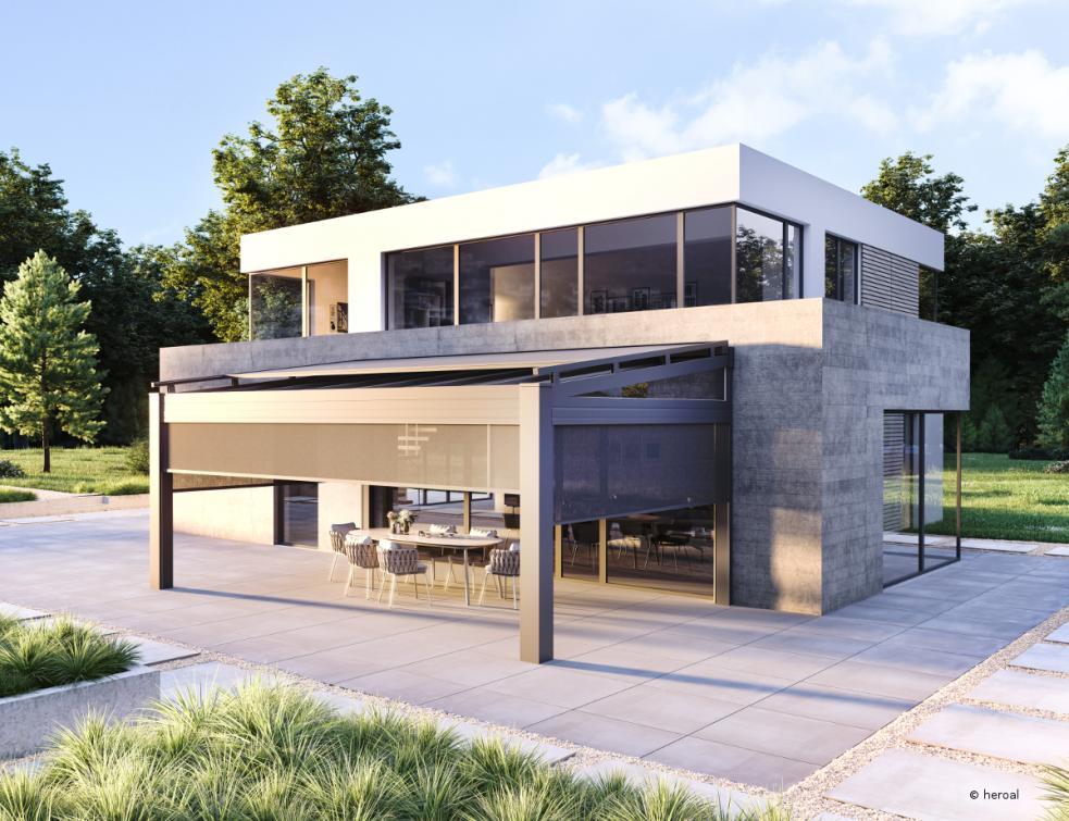 Le système de toit de terrasse heroal OR reçoit le Prix allemand du design 2021