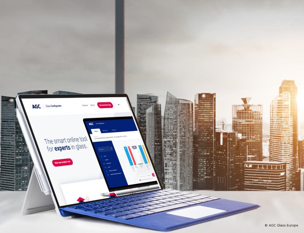 AGC Glass Europe dévoile la nouvelle version de son Glass Configurator