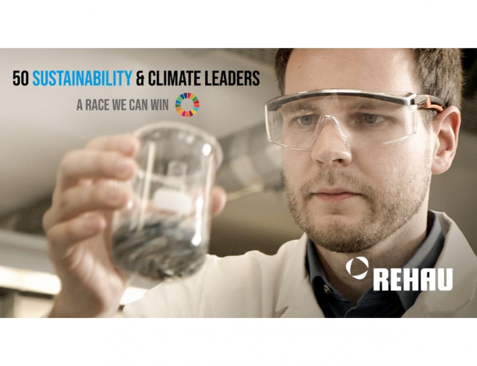 Rehau reconnu parmi les 50 leaders mondiaux du développement durable et du climat