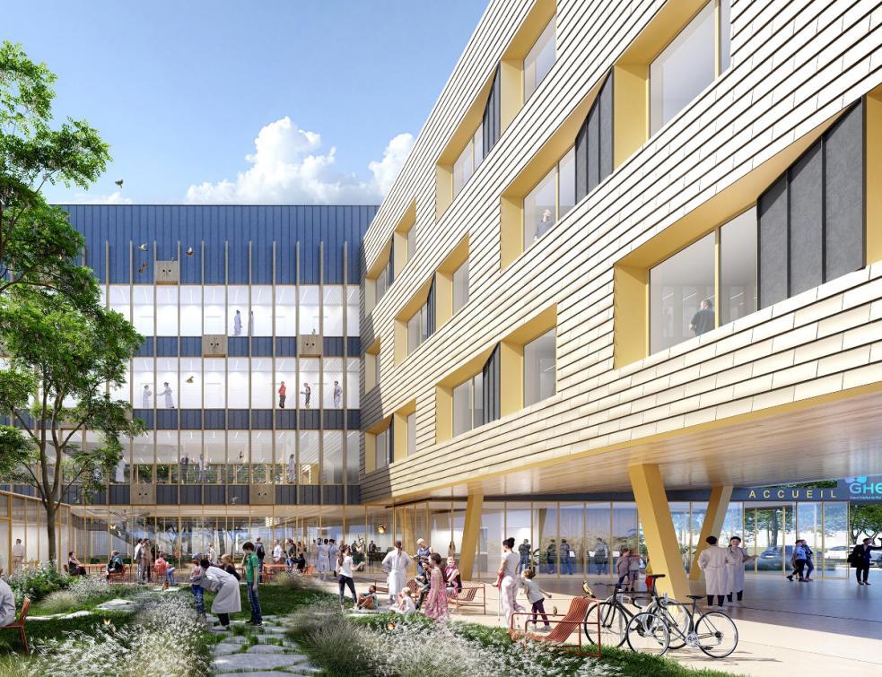 AIA Life Designers remporte le concours de la rénovation du site hospitalier de Meaux