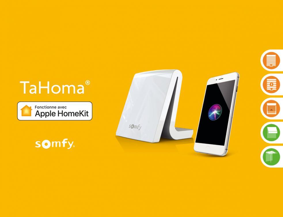 La box TaHoma de Somfy, compatible avec HomeKit d'Apple dès le 1er décembre
