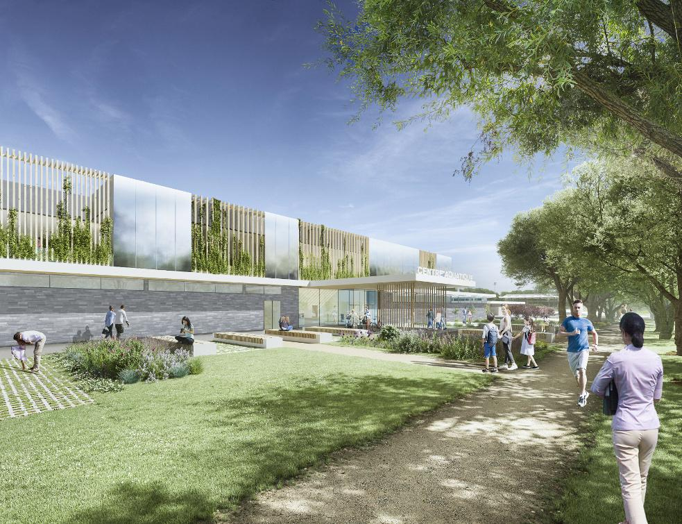 Le futur Centre aquatique de Marville attribué au groupement d'entreprises mené par GCC