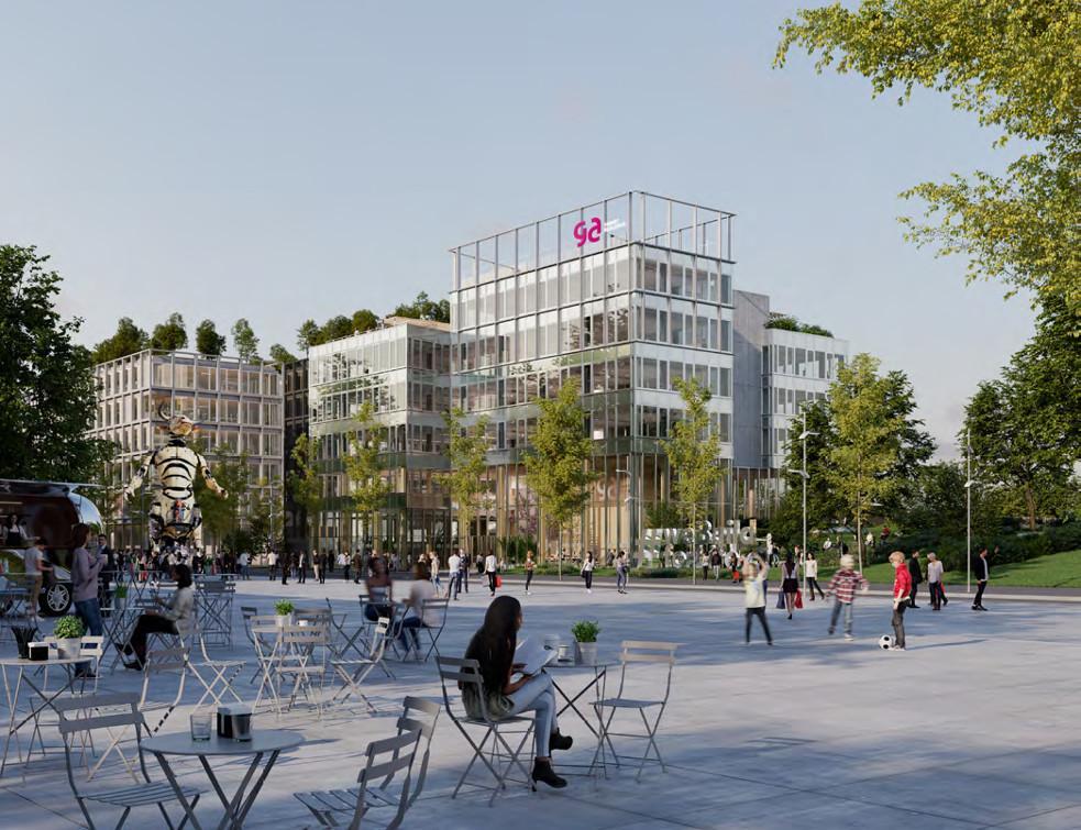 Le nouveau siège social de GA Smart Building préfigure un immobilier décarboné