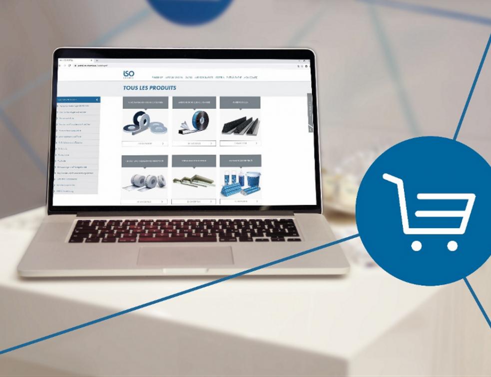 Le nouveau webshop d'ISO-Chemie est en ligne