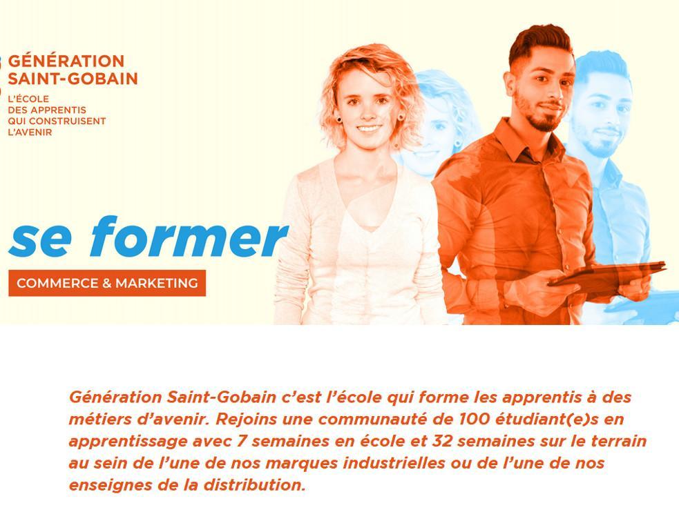 Saint-Gobain recrute 2 000 postes en alternance à la rentrée de septembre 2021