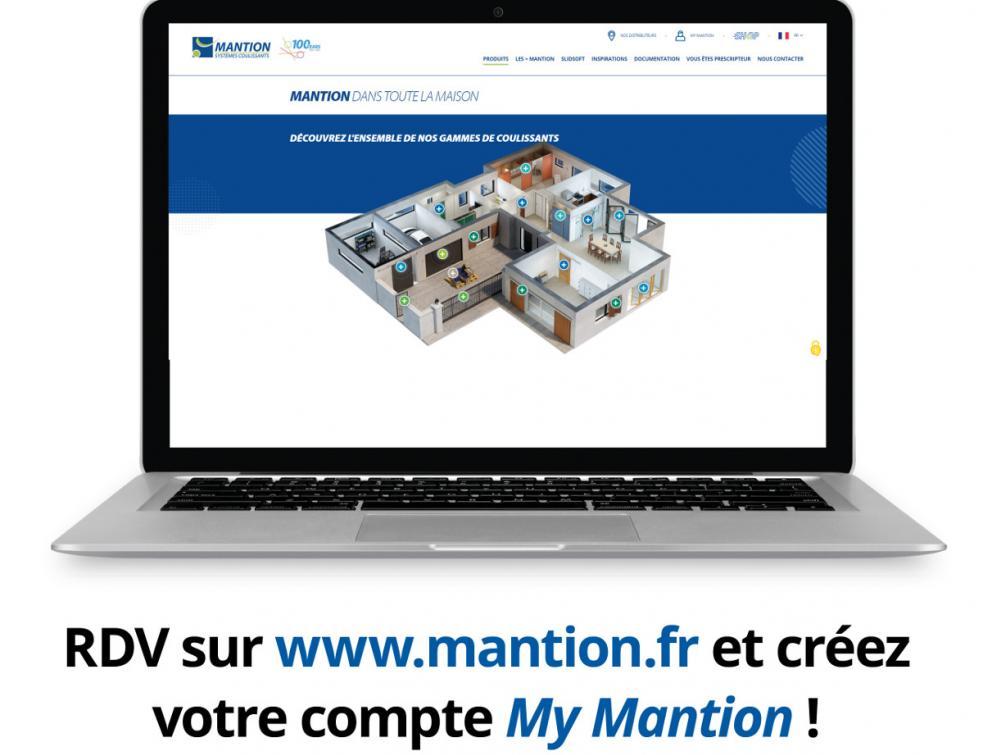 Mantion innove avec son nouveau site PRO-Installateur avec option d'achats mantion.fr
