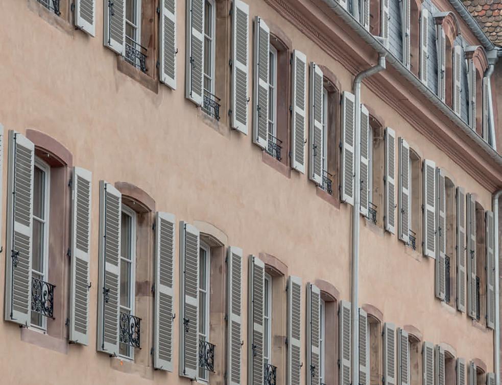 Mariage de prestige entre les Volets Thiebaut et le célèbre hôtel strasbourgeois