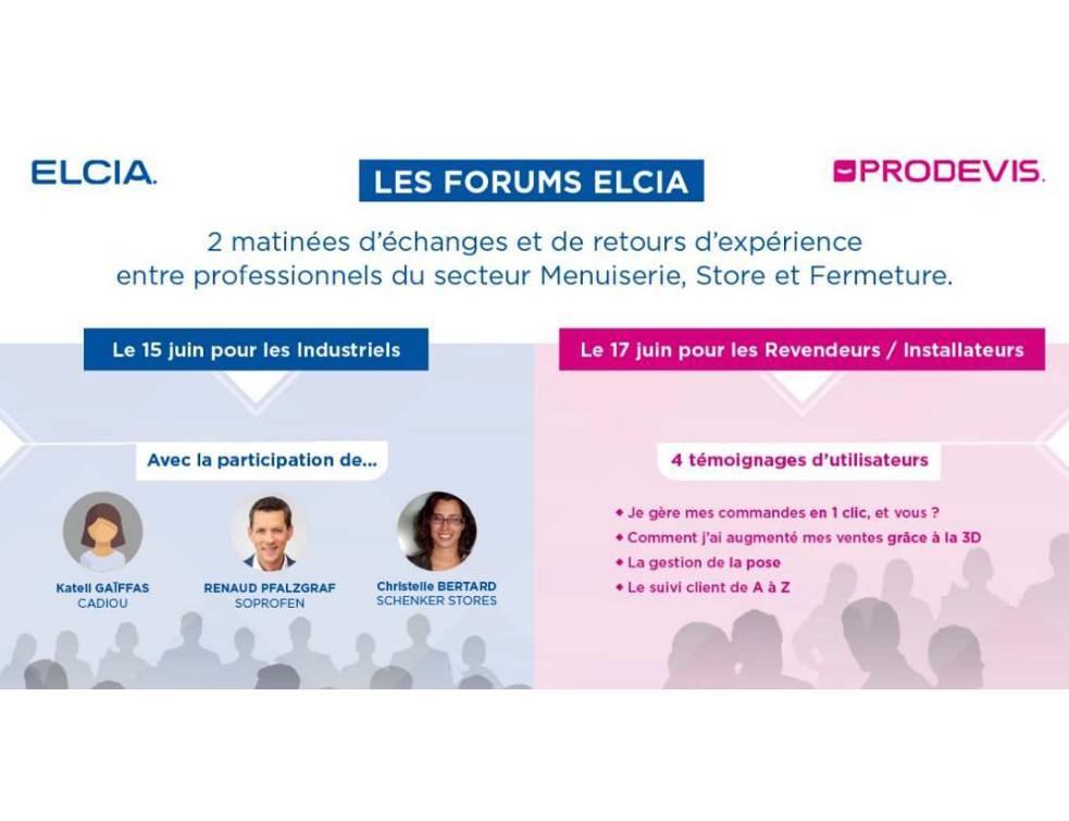 Elcia prépare un programme dédié autour de deux forums digitaux le 15 juin prochain