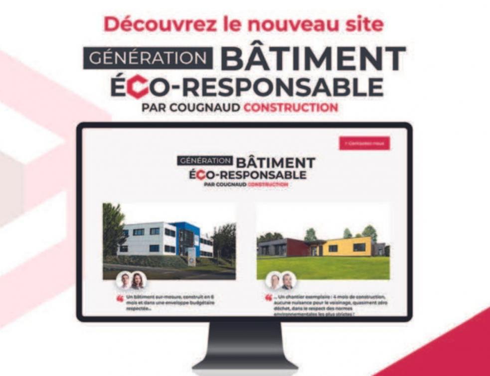 Génération Bâtiment Ecoresponsable, le site engagé de Cougnaud