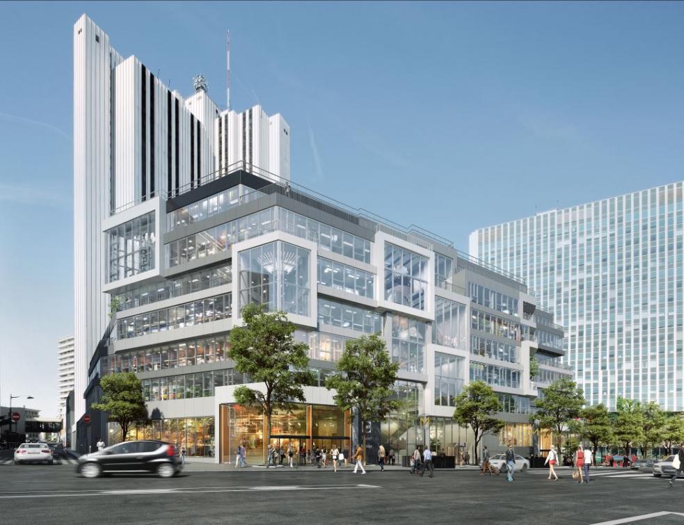 VD-Industry sécurise le nouveau centre commercial de Montparnasse