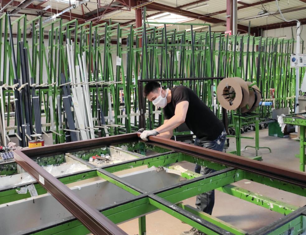 Vie & Véranda investit 3M€ dans une nouvelle usine de production